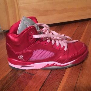 Air Jordan 5 Retro Red Ion Pink Valentines Day
